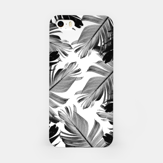 Thumbnail image of Tropical Banana Leaves Pattern #1 #tropical #decor #art  iPhone-Hülle, Live Heroes