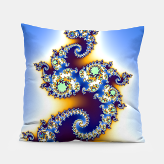 Thumbnail image of Fractal 4 Pillow, Live Heroes