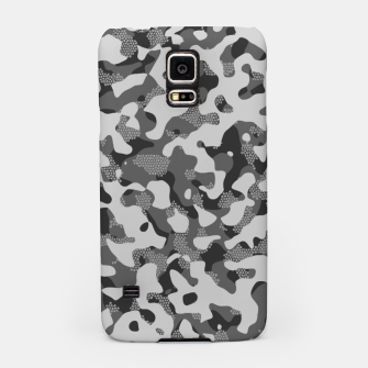 Thumbnail image of Grey Pattern Camouflage & Mosaic Style Handyhülle für Samsung, Live Heroes