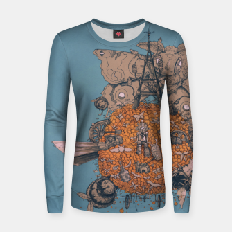 Thumbnail image of La machine volante Women sweater, Live Heroes
