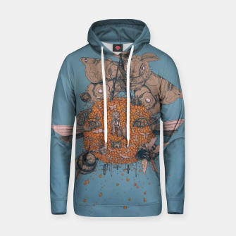 Thumbnail image of La machine volante Hoodie, Live Heroes