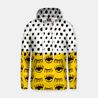 Thumbnail image of Yellow Traditional Moroccan Pattern by ARTERESTING Hoodie, Live Heroes