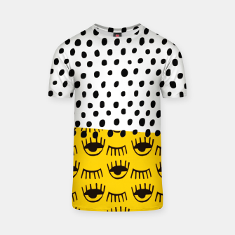 Thumbnail image of Yellow Traditional Moroccan Pattern by ARTERESTING T-shirt, Live Heroes