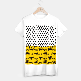 Thumbnail image of Yellow Traditional Moroccan Pattern by ARTERESTING T-shirt regular, Live Heroes