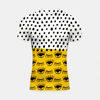 Thumbnail image of Yellow Traditional Moroccan Pattern by ARTERESTING Shortsleeve rashguard, Live Heroes