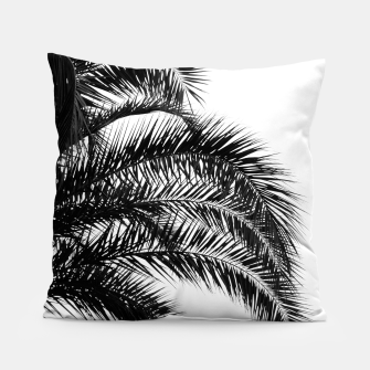Bohemian Palm Leaves #1 #tropical #decor #art Kissen thumbnail image