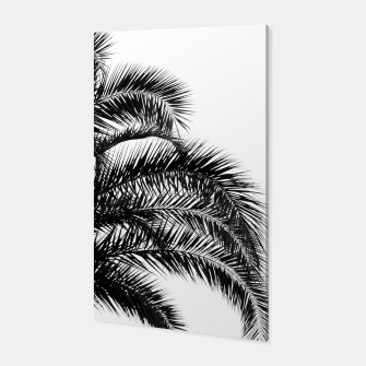 Bohemian Palm Leaves #1 #tropical #decor #art Canvas thumbnail image