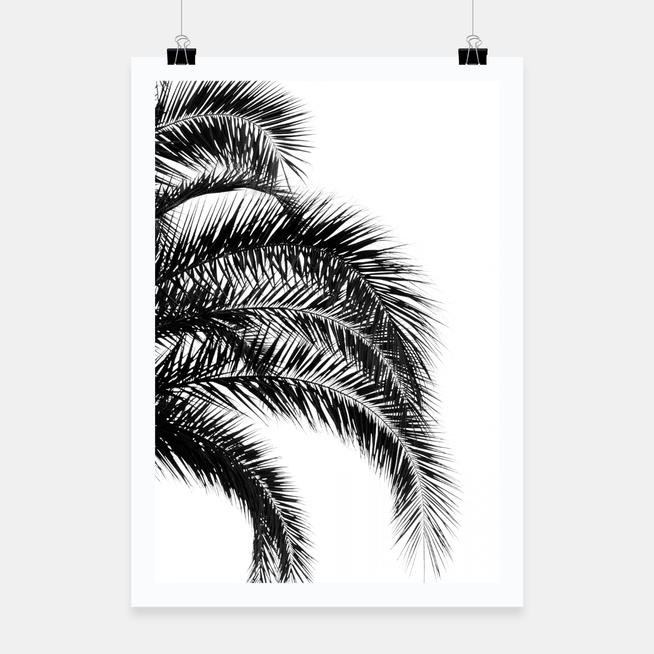 Image of Bohemian Palm Leaves #1 #tropical #decor #art Plakat - Live Heroes