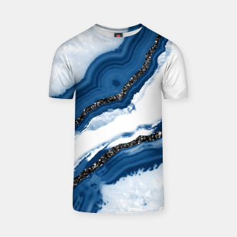 Thumbnail image of Agate Glitter Glam #14 #gem #decor #art T-Shirt, Live Heroes