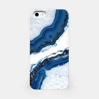 Agate Glitter Glam #14 #gem #decor #art iPhone-Hülle obraz miniatury