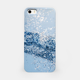 Thumbnail image of Sparkling Classic Blue Ocean Lady Glitter #1 (Faux Glitter) #shiny #decor #art  iPhone-Hülle, Live Heroes