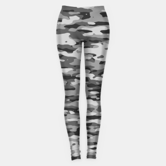 Grey Camouflage Pattern  Leggings thumbnail image