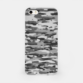 Grey Camouflage Pattern  iPhone-Hülle thumbnail image