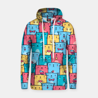 Colorful Cats Hoodie thumbnail image