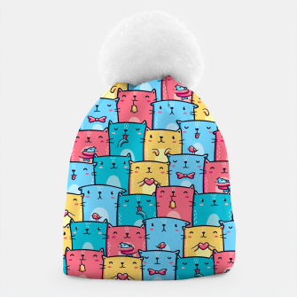 Colorful Cats Beanie thumbnail image