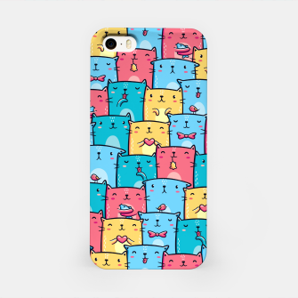 Colorful Cats iPhone Case thumbnail image