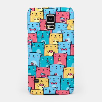 Colorful Cats Samsung Case thumbnail image