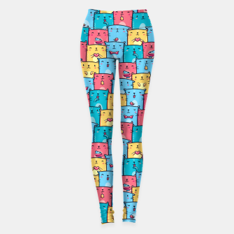 Thumbnail image of Colorful Cats Leggings, Live Heroes