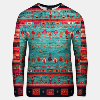 Thumbnail image of Antique Colored Traditional Moroccan Artwork Unisex sweater, Live Heroes