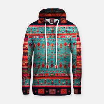 Thumbnail image of Antique Colored Traditional Moroccan Artwork Hoodie, Live Heroes
