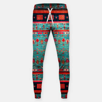 Thumbnail image of Antique Colored Traditional Moroccan Artwork Sweatpants, Live Heroes