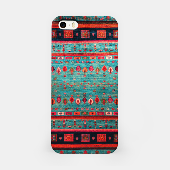 Thumbnail image of Antique Colored Traditional Moroccan Artwork iPhone Case, Live Heroes