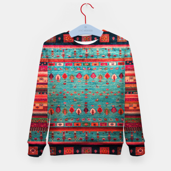 Thumbnail image of Antique Colored Traditional Moroccan Artwork Kid's sweater, Live Heroes