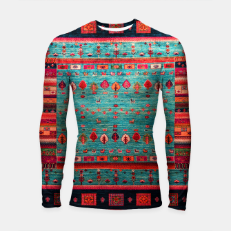 Thumbnail image of Antique Colored Traditional Moroccan Artwork Longsleeve rashguard , Live Heroes