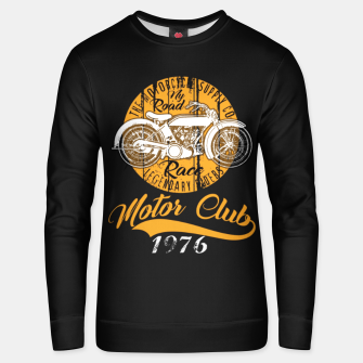 Thumbnail image of THE MOTORCYCLE SUPPLY co - MOTOR CLUB by ANIMOX Unisex sweater, Live Heroes