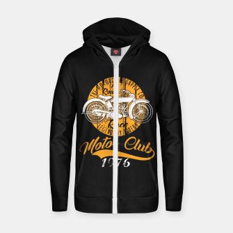 Thumbnail image of THE MOTORCYCLE SUPPLY co - MOTOR CLUB by ANIMOX Zip up hoodie, Live Heroes