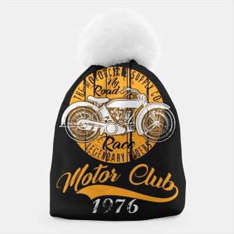 Thumbnail image of THE MOTORCYCLE SUPPLY co - MOTOR CLUB by ANIMOX Beanie, Live Heroes