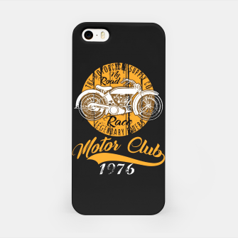 Thumbnail image of THE MOTORCYCLE SUPPLY co - MOTOR CLUB by ANIMOX iPhone Case, Live Heroes