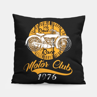Thumbnail image of THE MOTORCYCLE SUPPLY co - MOTOR CLUB by ANIMOX Pillow, Live Heroes