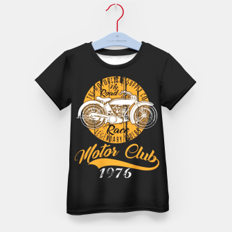Thumbnail image of THE MOTORCYCLE SUPPLY co - MOTOR CLUB by ANIMOX Kid's t-shirt, Live Heroes