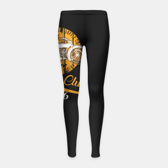 Thumbnail image of THE MOTORCYCLE SUPPLY co - MOTOR CLUB by ANIMOX Girl's leggings, Live Heroes