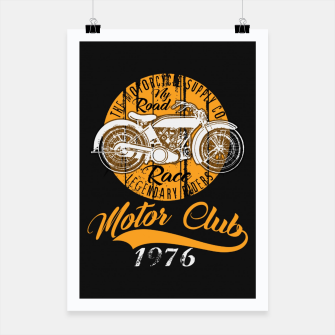Thumbnail image of THE MOTORCYCLE SUPPLY co - MOTOR CLUB by ANIMOX Poster, Live Heroes