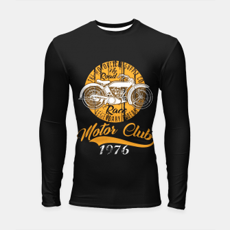 Thumbnail image of THE MOTORCYCLE SUPPLY co - MOTOR CLUB by ANIMOX Longsleeve rashguard , Live Heroes