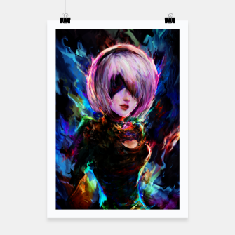Thumbnail image of 2b  Poster, Live Heroes