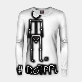 Thumbnail image of Dot PPL #tag  Women sweater, Live Heroes