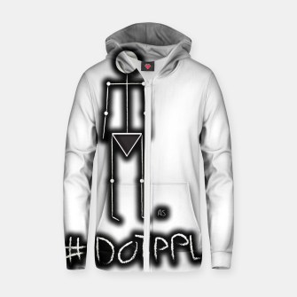 Thumbnail image of Dot PPL #tag  Zip up hoodie, Live Heroes