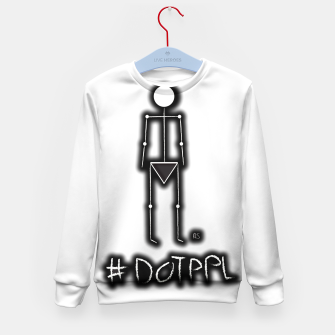 Thumbnail image of Dot PPL #tag  Kid's sweater, Live Heroes