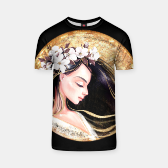 Thumbnail image of Beautiful brunette T-shirt, Live Heroes