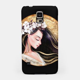 Thumbnail image of Beautiful brunette Samsung Case, Live Heroes