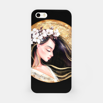 Thumbnail image of Beautiful brunette iPhone Case, Live Heroes