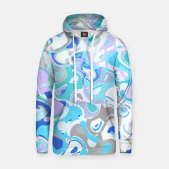 Imagen en miniatura de Baby blue mess, abstraction in fresh colors, winter theme Hoodie, Live Heroes