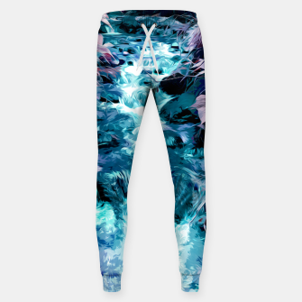 Thumbnail image of Magical mountain river, fairy colors, leaves, water, peaceful nature view Sweatpants, Live Heroes