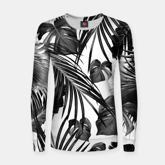 Thumbnail image of Tropical Jungle Leaves Dream #11 #tropical #decor #art Frauen sweatshirt, Live Heroes