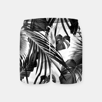 Thumbnail image of Tropical Jungle Leaves Dream #11 #tropical #decor #art Badeshorts, Live Heroes