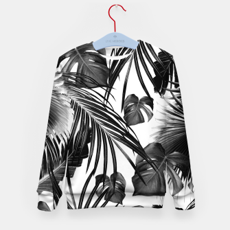 Miniature de image de Tropical Jungle Leaves Dream #11 #tropical #decor #art Kindersweatshirt, Live Heroes