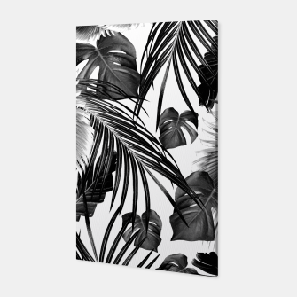Thumbnail image of Tropical Jungle Leaves Dream #11 #tropical #decor #art Canvas, Live Heroes